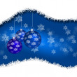 Abstract background with New Year&#039;s toys - 