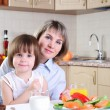 Mama and her little daughter — Stock Photo #4231900