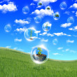 Abstract bubbles - Stockfoto