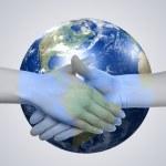 Business handshake — Stock Photo #4259937