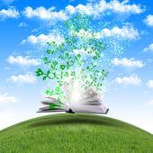 Magiczne książki — Zdjęcie stockowe