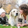 Mother and son together having fun — Stock Photo #4399482