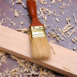 Shavings of wood, - 