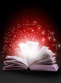 Magic book — Stock Photo