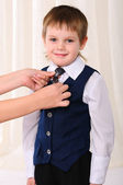 Portrait of a young boy — Stock Photo