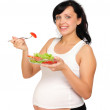 Young pregnant woman — Stock Photo #4452247