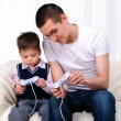 Young father and son together — Stock Photo #4452431