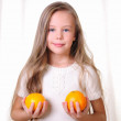 Portrait of a young beautiful girl — Stock Photo #4455335