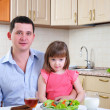 Father and his young daughter — Stock Photo