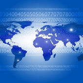 Abstract background on global business — Stock Photo