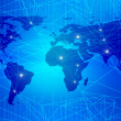 Abstract background on global business - Foto Stock