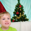 Little boy getting ready for the holiday — Stock Photo #4510913