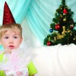 Little boy getting ready for the holiday — Stock Photo #4510914