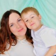 Little boy and his mom — Stock Photo #4510950