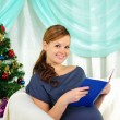 Portrait of a young pregnant girl — Stock Photo