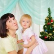 Young mother and her daughter — Stock Photo #4511608