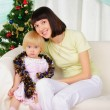 Young mother and her daughter — Stock Photo