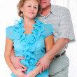 Grandparents together. Elderly couple - Stock Photo