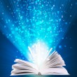Magic book — Stock Photo #4513843