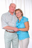 Grandparents together. Elderly couple — Stock Photo