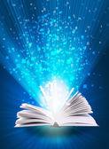 Kouzelná kniha — Stock fotografie