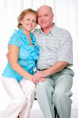 Grandparents together. Elderly couple — Stock Photo