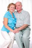 Abuelos juntos. pareja de ancianos — Foto de Stock