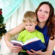 Little boy and his mom — Stock Photo