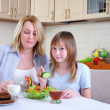 Mom and young daughter — Stock Photo #4574735