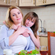 Mom and young daughter — Stock Photo #4610976
