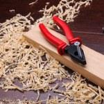 Shavings of wood — Stock Photo #4715174