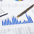 Financial charts and graphs — Stock Photo #4715289