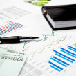Financial charts and graphs — Stock Photo #4715306