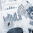 Financial charts and graphs — Stock Photo #4715466