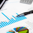 Financial charts and graphs — Stock Photo #4715497