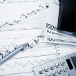 Financial charts and graphs — Stock Photo #4722385
