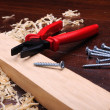 Wood shavings — Stock Photo #4722476