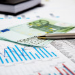 Financial charts and graphs — Stock Photo #4722506