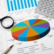 Financial charts and graphs — Stock Photo #4724610