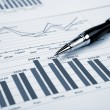 Financial charts and graphs — Stock Photo #4729240
