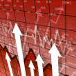 Business chart and graphs — Stockfoto