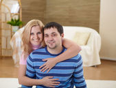 Couple in love together — Stock Photo