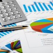 Financial charts and graphs — Stock Photo #4731183