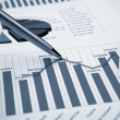 Financial charts and graphs — Stock Photo #4731486