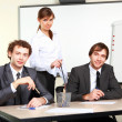 A young businessmen in office — Stock Photo #4732321