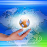 Global technology illustration — Stock Photo