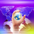 Global technology illustration — Stock Photo #4737537
