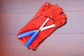 Gloves for working — Stock fotografie