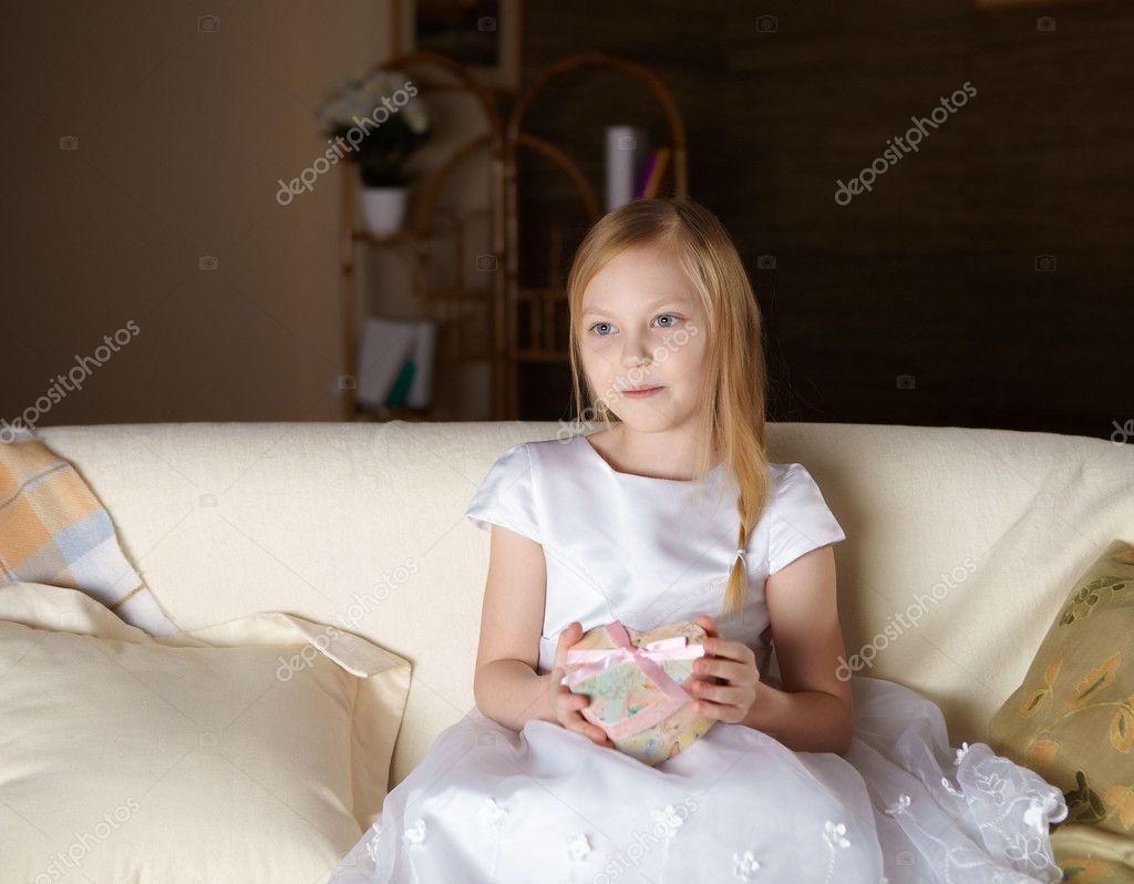 Beautiful White Little Girls