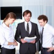 A team of businessmen - Stock Photo